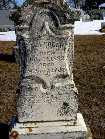 EDGAR, THOMAS - Ida County, Iowa | THOMAS EDGAR