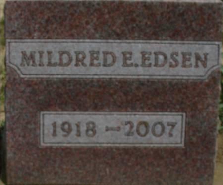EDSEN, MILDRED E. - Ida County, Iowa | MILDRED E. EDSEN