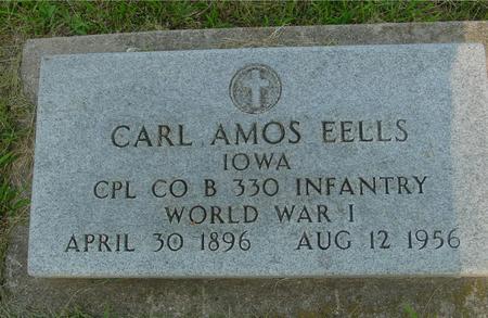 EELLS, CARL AMOS - Ida County, Iowa | CARL AMOS EELLS