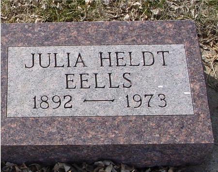 HELDT EELLS, JULIA - Ida County, Iowa | JULIA HELDT EELLS
