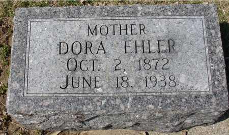 EHLER, DORA - Ida County, Iowa | DORA EHLER