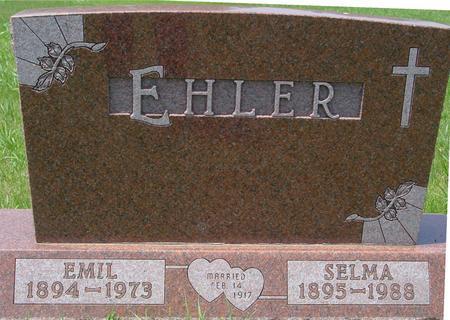 EHLER, EMIL - Ida County, Iowa   EMIL EHLER
