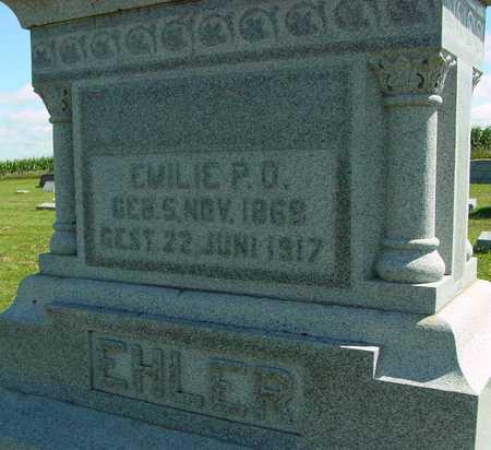 EHLER, EMILIE P.O. - Ida County, Iowa | EMILIE P.O. EHLER