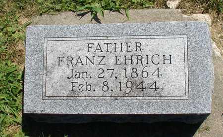 EHRICH, FRANZ - Ida County, Iowa | FRANZ EHRICH