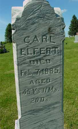 ELFERT, CARL - Ida County, Iowa | CARL ELFERT