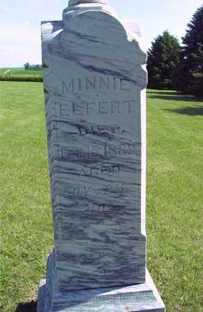ELFERT, MINNIE - Ida County, Iowa | MINNIE ELFERT