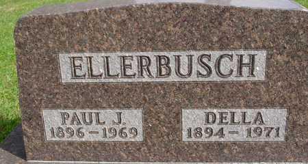 ELLERBUSCH, PAUL & DELLA - Ida County, Iowa   PAUL & DELLA ELLERBUSCH