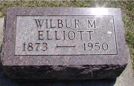ELLIOTT, WILBUR M. - Ida County, Iowa | WILBUR M. ELLIOTT