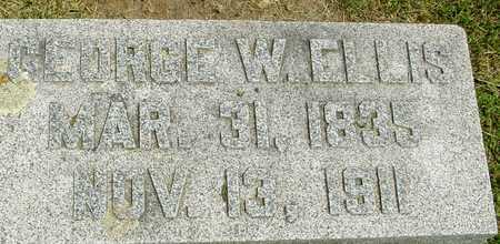ELLIS, GEORGE W. - Ida County, Iowa   GEORGE W. ELLIS