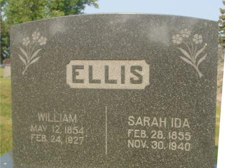 ELLIS, WILLIAM & SARAH - Ida County, Iowa | WILLIAM & SARAH ELLIS