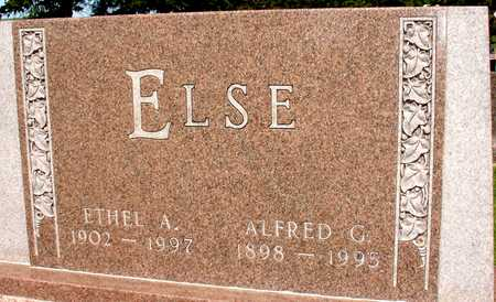 ELSE, ALFRED & ETHEL - Ida County, Iowa | ALFRED & ETHEL ELSE