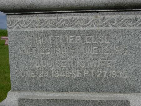 ELSE, GOTTLIEB - Ida County, Iowa | GOTTLIEB ELSE