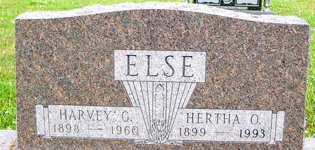 ELSE, HARVEY & HERTHA - Ida County, Iowa | HARVEY & HERTHA ELSE