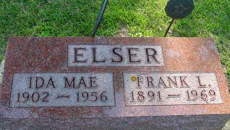 ELSER, FRANK L. & IDA MAE - Ida County, Iowa   FRANK L. & IDA MAE ELSER