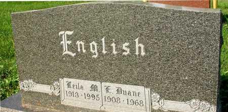 ENGLISH, E. DUANE & LEILA - Ida County, Iowa | E. DUANE & LEILA ENGLISH