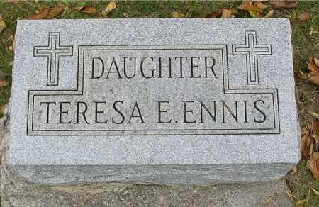 ENNIS, TERESA E. - Ida County, Iowa | TERESA E. ENNIS