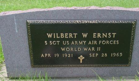 ERNST, WILBERT W. - Ida County, Iowa | WILBERT W. ERNST