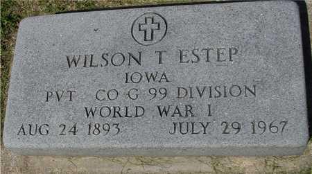 ESTEP, WILSON T. - Ida County, Iowa | WILSON T. ESTEP