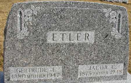 ETLER, JACOB & GERTRUDE - Ida County, Iowa | JACOB & GERTRUDE ETLER