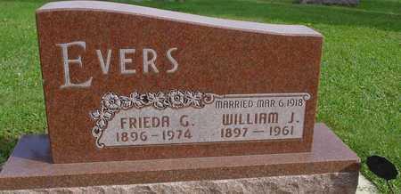 EVERS, WILLIAM & FRIEDA - Ida County, Iowa | WILLIAM & FRIEDA EVERS