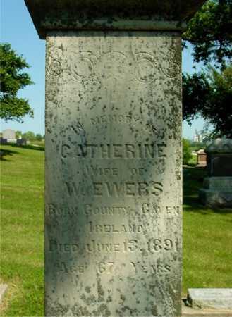 EWERS, CATHERINE - Ida County, Iowa   CATHERINE EWERS