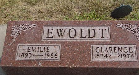 EWOLDT, CLARENCE & EMILIE - Ida County, Iowa | CLARENCE & EMILIE EWOLDT