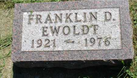 EWOLDT, FRANKLIN D. - Ida County, Iowa | FRANKLIN D. EWOLDT