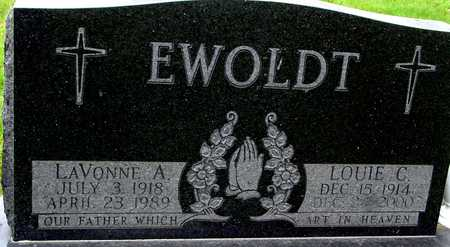 EWOLDT, LOUIE & LAVIONNE - Ida County, Iowa   LOUIE & LAVIONNE EWOLDT