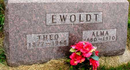 EWOLDT, THEO & ALMA - Ida County, Iowa   THEO & ALMA EWOLDT