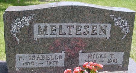 MELTESEN, F. ISABELLE - Ida County, Iowa   F. ISABELLE MELTESEN