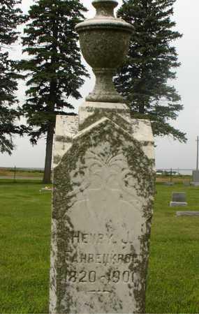 FAHRENKROG, HENRY J. - Ida County, Iowa   HENRY J. FAHRENKROG