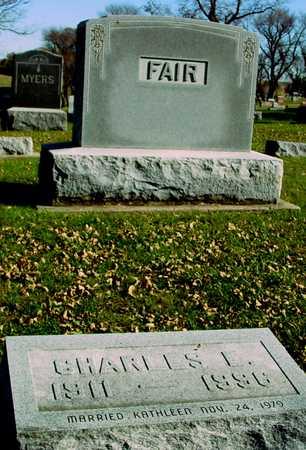 FAIR, CHARLES E. - Ida County, Iowa   CHARLES E. FAIR