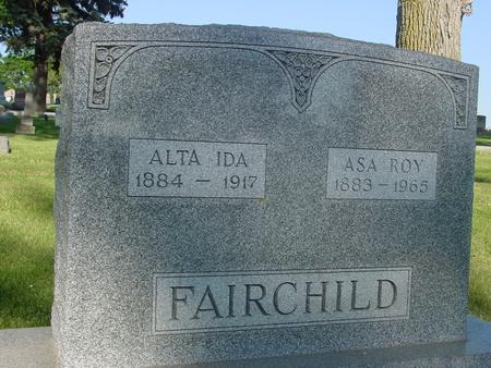 FAIRCHILD, ASA  ROY - Ida County, Iowa | ASA  ROY FAIRCHILD