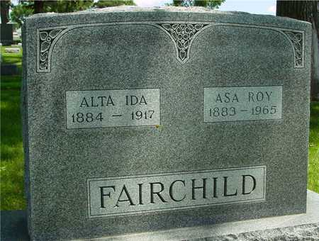FAIRCHILD, ASA & ALTA IDA - Ida County, Iowa | ASA & ALTA IDA FAIRCHILD