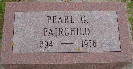 FAIRCHILD, PEARL G. - Ida County, Iowa | PEARL G. FAIRCHILD