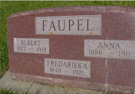 FAUPEL, ALBERT - Ida County, Iowa | ALBERT FAUPEL