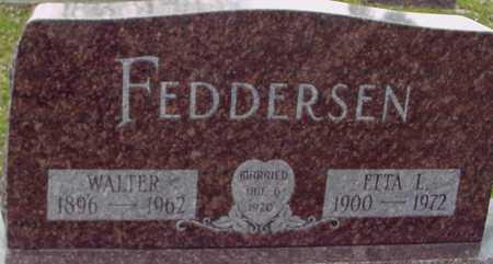 FEDDERSEN, WALTER & ETTA - Ida County, Iowa | WALTER & ETTA FEDDERSEN