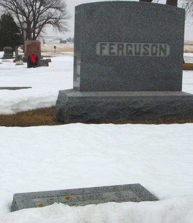 FERGUSON, CLAUDE E. - Ida County, Iowa | CLAUDE E. FERGUSON