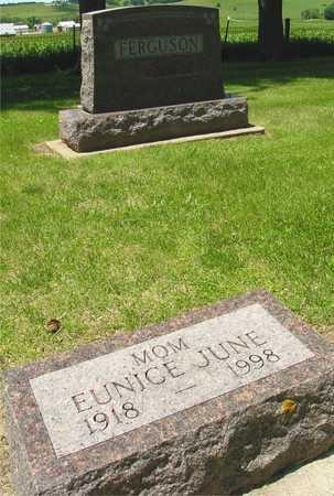 FERGUSON, EUNICE JUNE - Ida County, Iowa   EUNICE JUNE FERGUSON