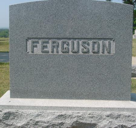 FERGUSON, HENRY K. - Ida County, Iowa | HENRY K. FERGUSON