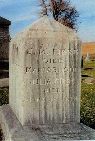 FIBBS, J. M. & JULIA - Ida County, Iowa | J. M. & JULIA FIBBS
