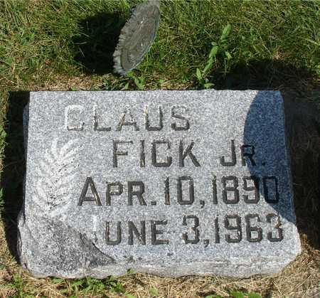 FICK, CLAUS,  JR. - Ida County, Iowa | CLAUS,  JR. FICK