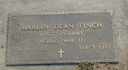 FINCH, MARLIN DEAN - Ida County, Iowa | MARLIN DEAN FINCH