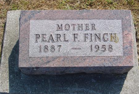 FINCH, PEARL F. - Ida County, Iowa | PEARL F. FINCH