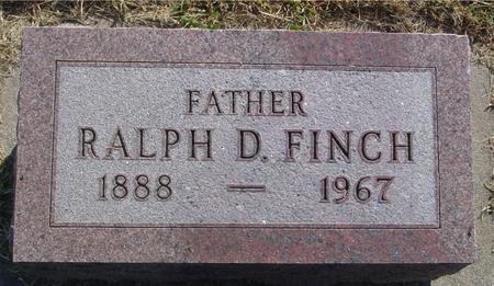 FINCH, RALPH D. - Ida County, Iowa   RALPH D. FINCH