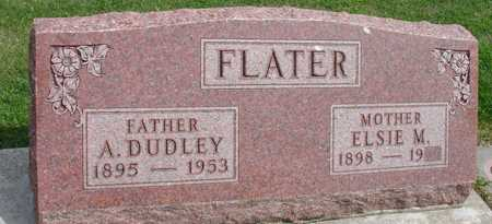 FLATER, A. DUDLEY - Ida County, Iowa | A. DUDLEY FLATER