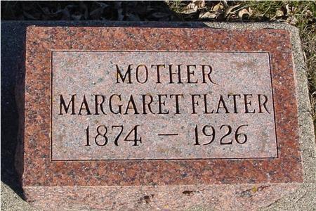 FLATER, MARGARET - Ida County, Iowa | MARGARET FLATER