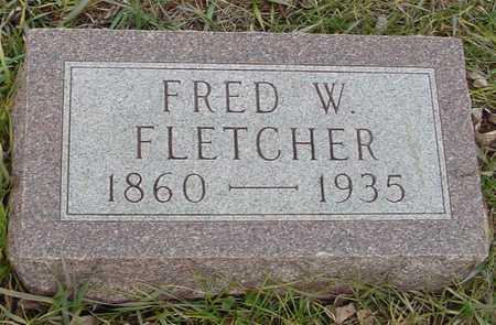 FLETCHER, FRED W. - Ida County, Iowa | FRED W. FLETCHER