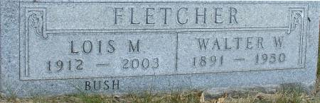 BUSH FLETCHER, LOIS M. - Ida County, Iowa | LOIS M. BUSH FLETCHER