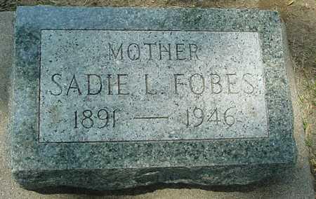 FOBES, SADIE L. - Ida County, Iowa | SADIE L. FOBES